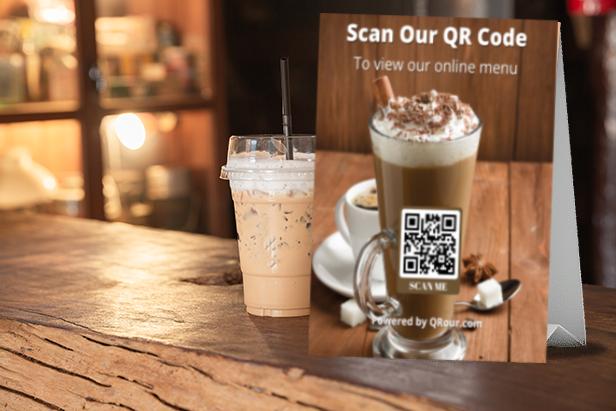 Coffee Shop QR Menu